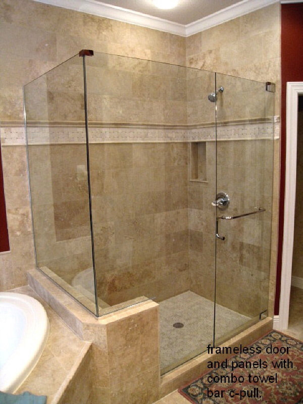 Corner Shower Doors in Golden Gate FL