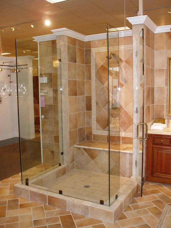 Heavy Glass Shower Doors in Golden Gate FL