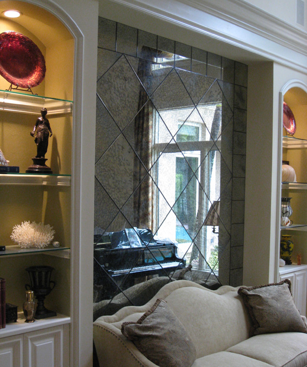 Antique Glass And Mirrors