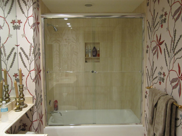 Chrome Shower Doors In Bonita Springs Fl