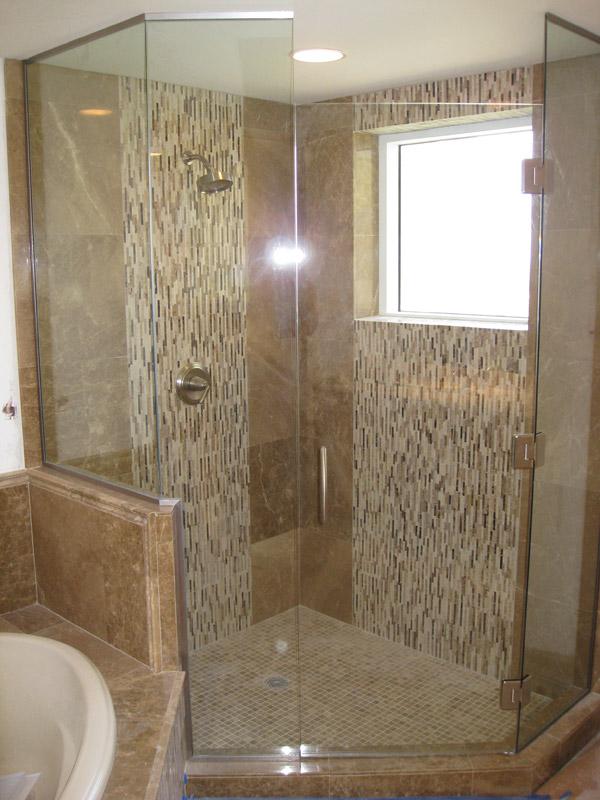 Hinged Shower Doors in Naples FL