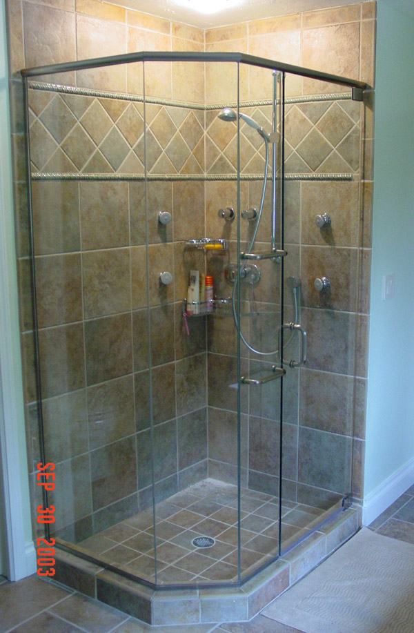 Multi Panel Shower Doors In North Fort Myers Fl
