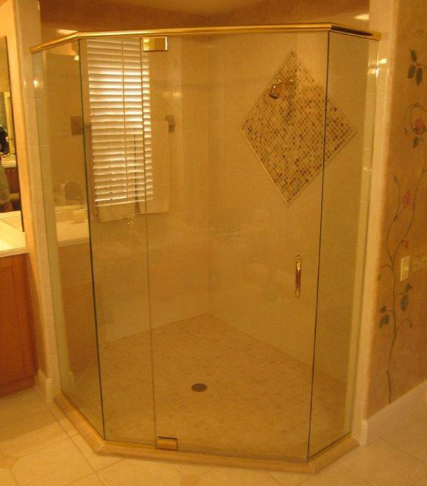 Brass Shower Doors Bonita Springs, Florida