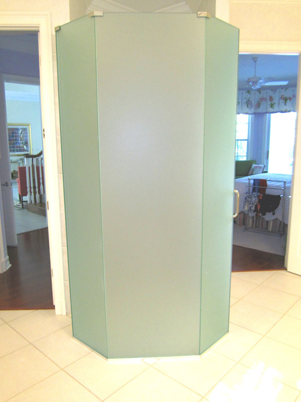 Frosted Shower Doors Bonita Springs, Florida