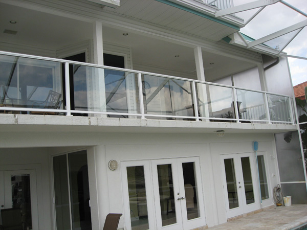 Glass Railings Bonita Springs, Florida