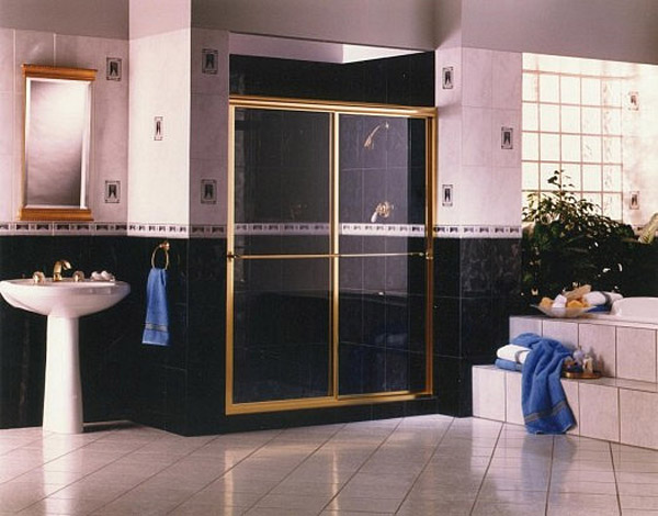 Gold Shower Doors Bonita Springs, Florida
