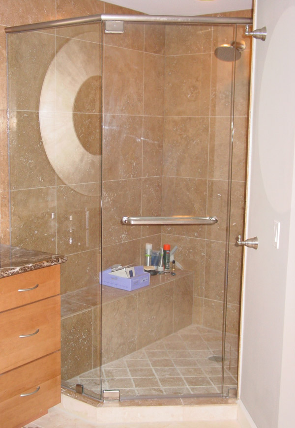 Nickel Shower Doors in FL