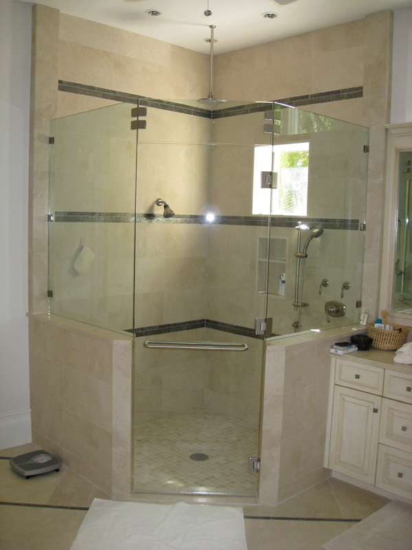 Seamless Shower Doors in FL