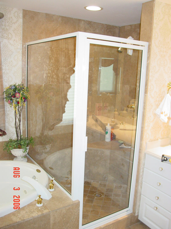 White Shower Doors in FL